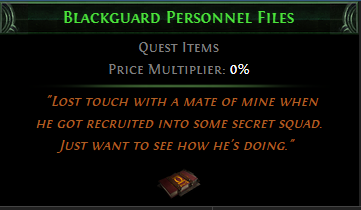 Blackguard Personnel Files