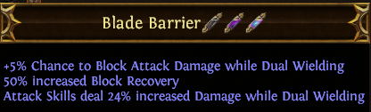 Blade Barrier PoE