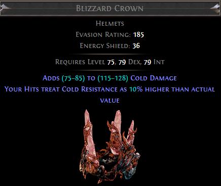 Blizzard Crown