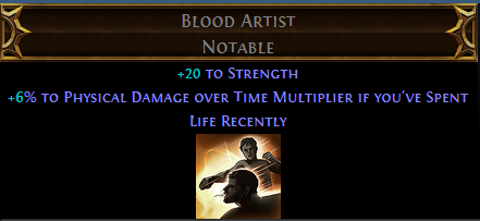 Blood Artist PoE