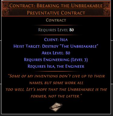 Contract: Breaking the Unbreakable