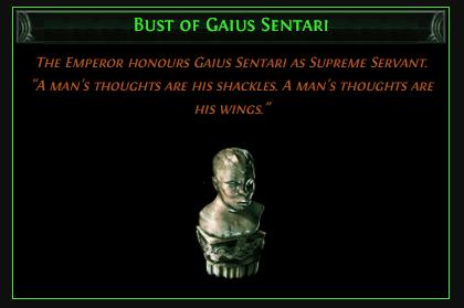 Bust of Gaius Sentari