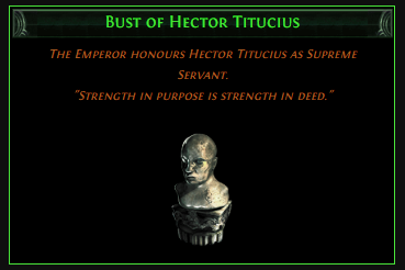 Bust of Hector Titucius
