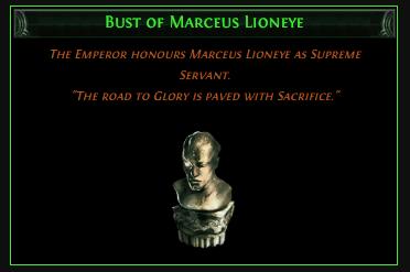 Bust of Marceus Lioneye