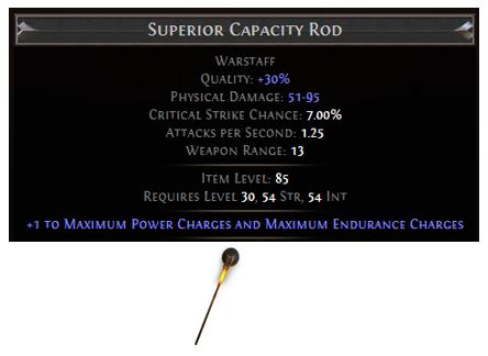 Capacity Rod