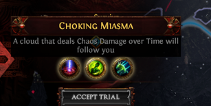 Choking Miasma