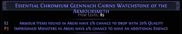 Chromium Glennach Cairns Watchstone
