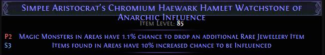Chromium Haewark Hamlet Watchstone