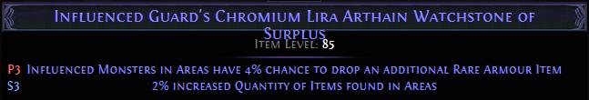 Chromium Lira Arthain Watchstone