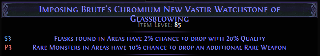 Chromium New Vastir Watchstone