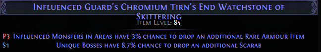 Chromium Tirn's End Watchstone