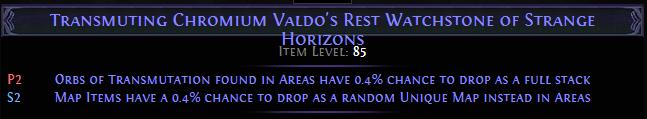 Chromium Valdo's Rest Watchstone