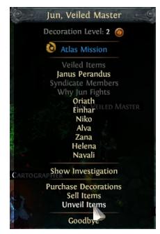 click Unveil Items