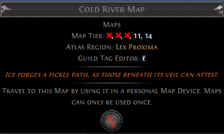 Cold River Map PoE