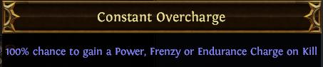 Constant Overcharge PoE