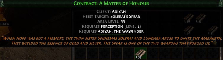 Contract: A Matter of Honour