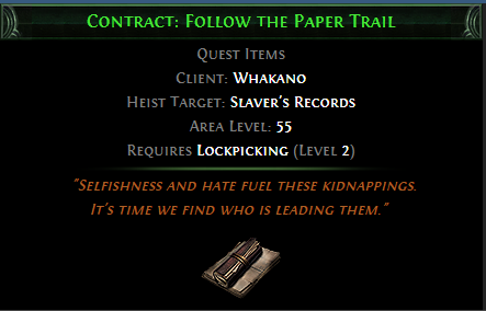 Contract: Follow the Paper Trail
