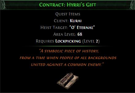 Contract: Hyrri's Gift