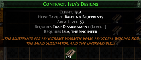 Contract: Isla's Designs