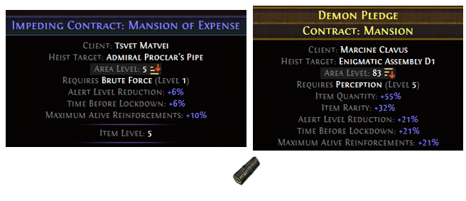 Contract: Mansion