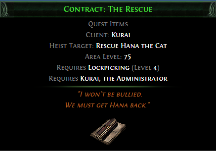 Contract: The Rescue