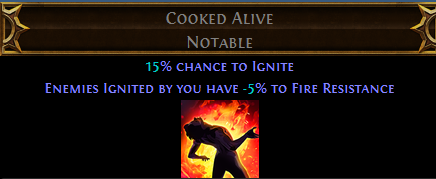 Cooked Alive PoE