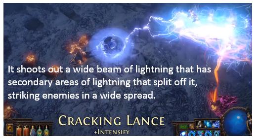 Crackling Lance