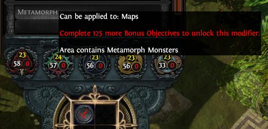 Crafting Metamorph Mods