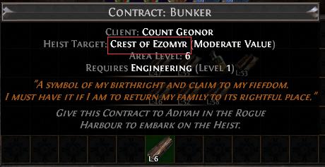 Crest of Ezomyr Contract