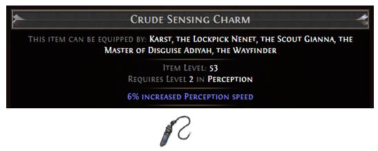 Crude Sensing Charm