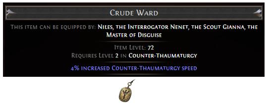 Crude Ward