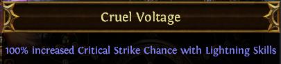 Cruel Voltage PoE