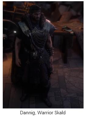 Dannig, Warrior Skald PoE