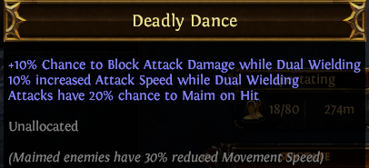 Deadly Dance PoE