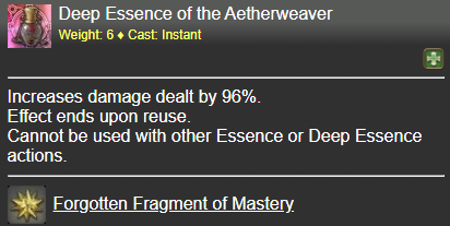 Deep Essence of the Aetherweaver FFXIV