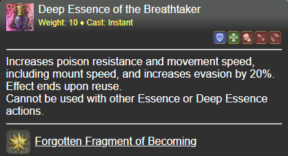 Deep Essence of the Breathtaker FFXIV