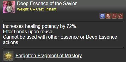 Deep Essence of the Savior FFXIV
