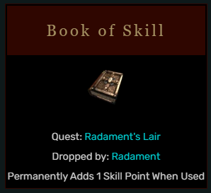 Diablo 2 Book of Skill