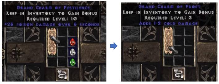 Diablo 2 Charm Recipes