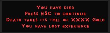 Diablo 2 Dying In Nightmare