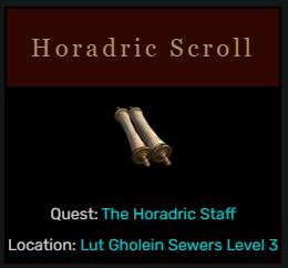 Diablo 2 Horadric Scroll
