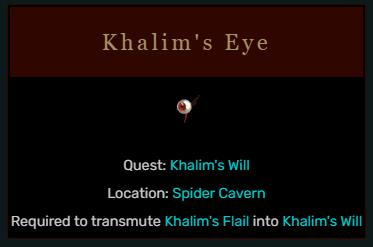 Diablo 2 Khalim's Eye