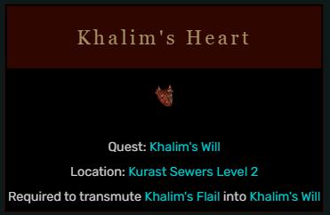 Diablo 2 Khalim's Heart