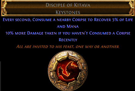 Disciple of Kitava PoE