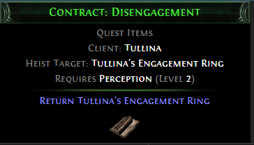 Contract: Disengagement