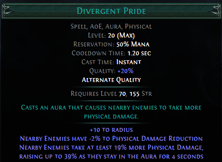 Divergent Pride PoE