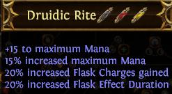 Druidic Rite PoE