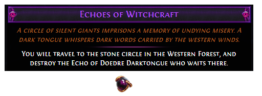 Echoes of Witchcraft