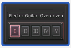 Electric Guitar Changing Tones