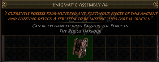 Enigmatic Assembly A4